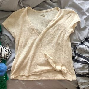 Madewell side knot top